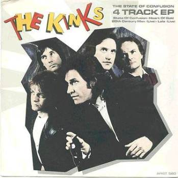 KINKS - State Of Confusion - ARISTA EP P/S
