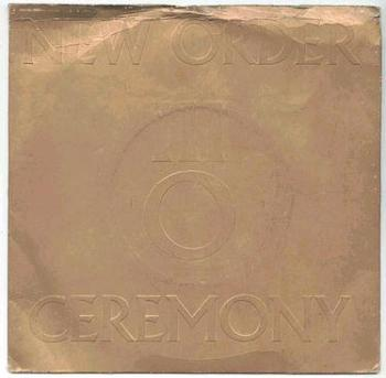 NEW ORDER - Ceremony - FACTORY P/S