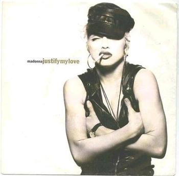 MADONNA - Justify My Love - SIRE P/S