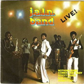 J.A.L.N. BAND - LIVE 4 TRACK EP - MAGNET P/S