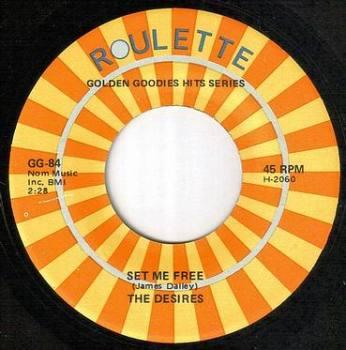 DESIRES - SET ME FREE - ROULETTE