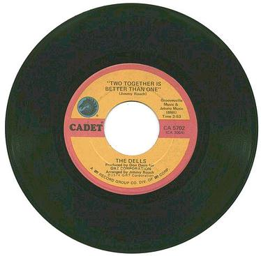 DELLS - Two Together Is Better Than One - CADET