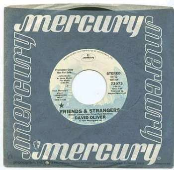 DAVID OLIVER - FRIENDS & STRANGERS - MERCURY dj