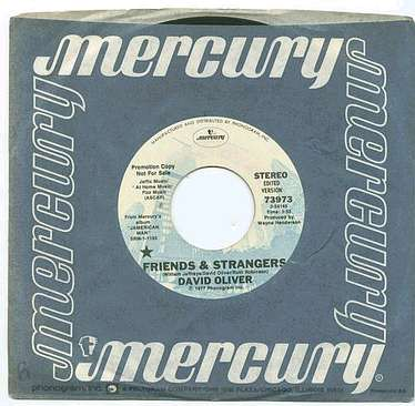 DAVID OLIVER - FRIENDS & STRANGERS - MERCURY dj