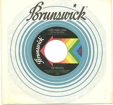 CHI-LITES - I LIKE YOUR LOVIN' - BRUNSWICK