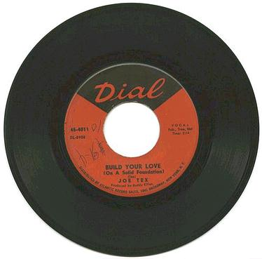 JOE TEX - Build Your Love On A Strong Foundation