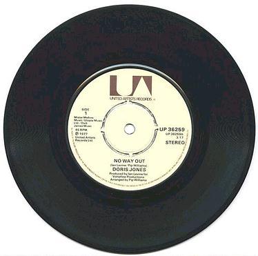DORIS JONES - NO WAY OUT - UA