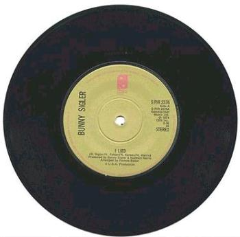 BUNNY SIGLER - I Lied - UK PIR