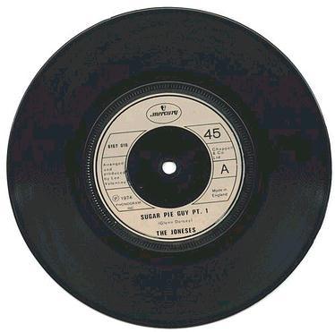 JONESES - Sugar Pie Guy - UK MERCURY