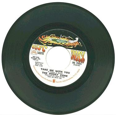 HONEY CONE - Take Me With You - HOT WAX