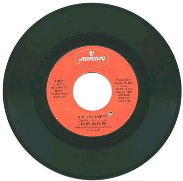 JERRY BUTLER - Are You Happy - MERCURY