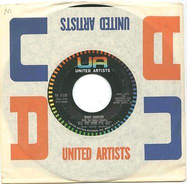 MARV JOHNSON - All The Love I Got - UA