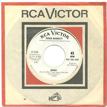 SUSAN BARRETT - Sunny - RCA dj