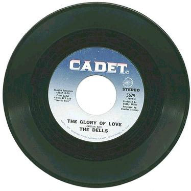 DELLS - The Glory Of Love - CADET