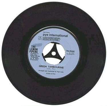 LEMON PIPERS - Green Tambourine - PYE