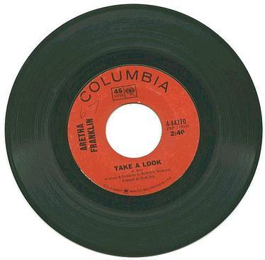 ARETHA FRANKLIN - Take A Look - COLUMBIA