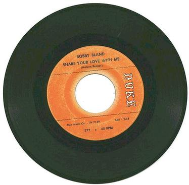 BOBBY BLAND - Share Your Love With Me - DUKE