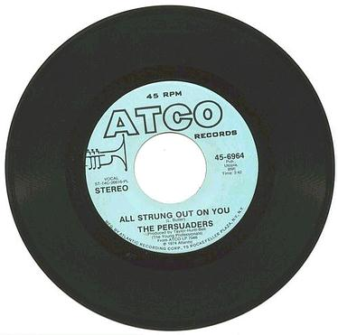 PERSUADERS - All Strung Out On You - ATCO dj