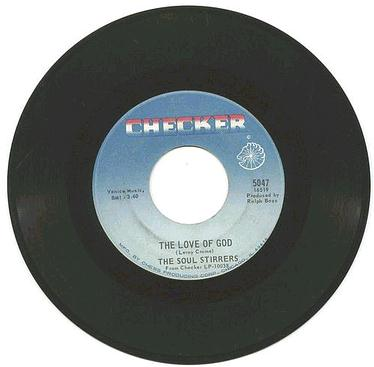 SOUL STIRRERS - The Love Of God - CHECKER