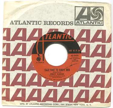 PERCY SLEDGE - Take Time To Know Her - Atlantic