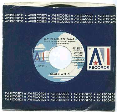 JAMES WELLS - My Claim To Fame - AVI