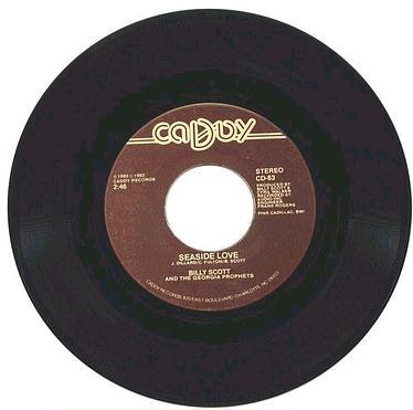 BILLY SCOTT & PROPHETS - Seaside Love - Caddy