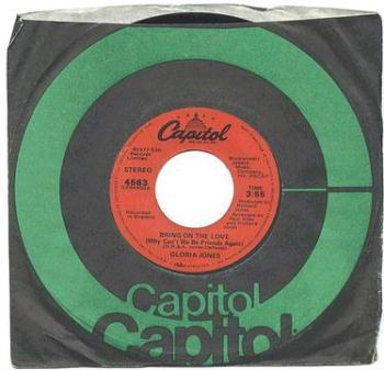 GLORIA JONES - Bring On The Love - CAPITOL
