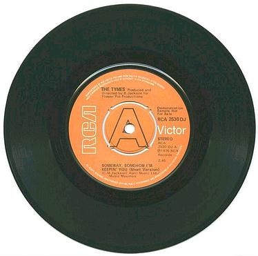 TYMES - Someway,Somehow I'm Keepin You - RCA dj