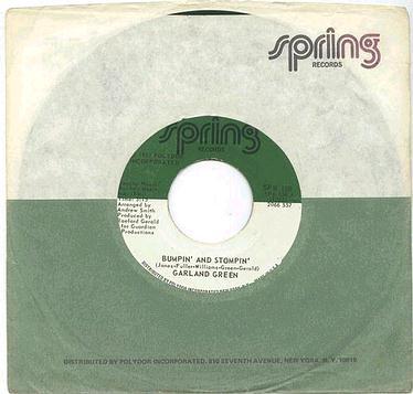 GARLAND GREEN - Bumpin' And Stompin' - SPRING