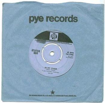 STATUS QUO - In My Chair - PYE