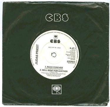 JUDAS PRIEST - Rock Forever EP - CBS demo