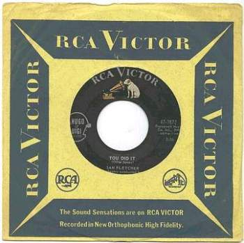 SAM FLETCHER - You Did It - RCA
