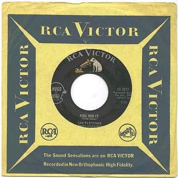 SAM FLETCHER - You Did It - RCA