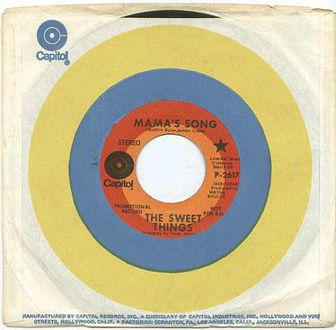 SWEET THINGS - Mama's Song - CAPITOL