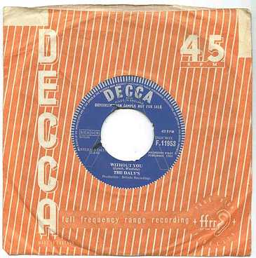 DALYS - WITHOUT YOU - DECCA demo