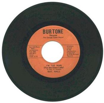 NAT HALL - I'M THE MAN - BURTONE