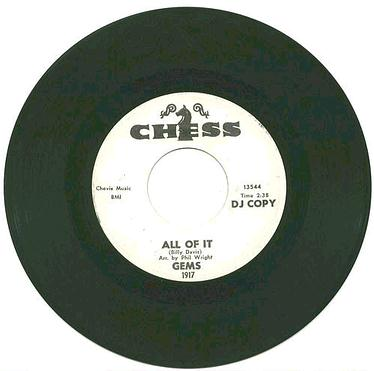 GEMS - ALL OF IT - CHESS dj