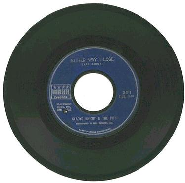 GLADYS KNIGHT & PIPS - Either Way I Lose - MAXX