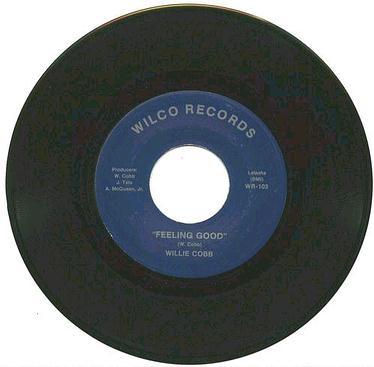 WILLIE COBB - FEELING GOOD - WILCO