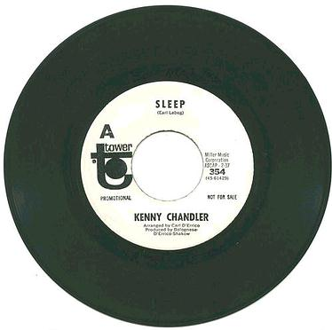 KENNY CHANDLER - SLEEP - TOWER W/DJ