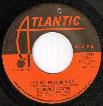 CLARENCE CARTER - IT'S ALL IN YOUR MIND - ATLANTIC