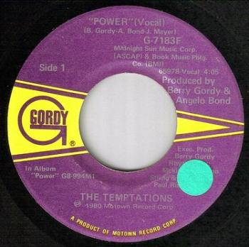 TEMPTATIONS - POWER - GORDY
