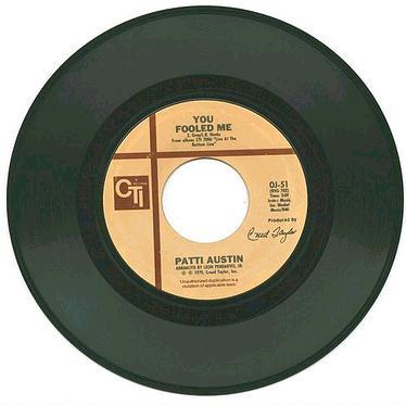 PATTI AUSTIN - YOU FOOLED ME - CTI