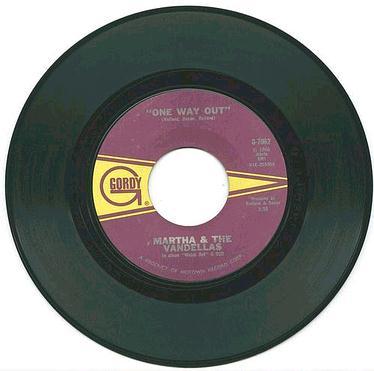 MARTHA & VANDELLAS - ONE WAY OUT - GORDY