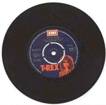 T REX - TEENAGE DREAM - EMI