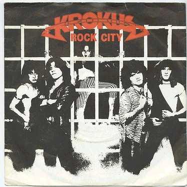 KROKUS - ROCK CITY -ARIOLA dj P/S