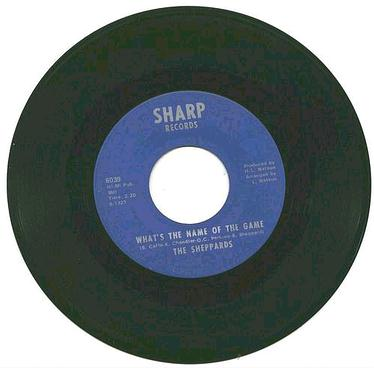 SHEPPARDS - What's The Name Of The Game -Sharp