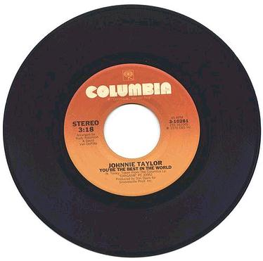 JOHNNIE TAYLOR - You're The Best In The World - US