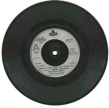 HAROLD MELVIN - Todays Your Lucky Day - UK London