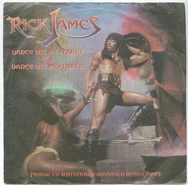 RICK JAMES - DANCE WIT ME - TMG 1226 P/S